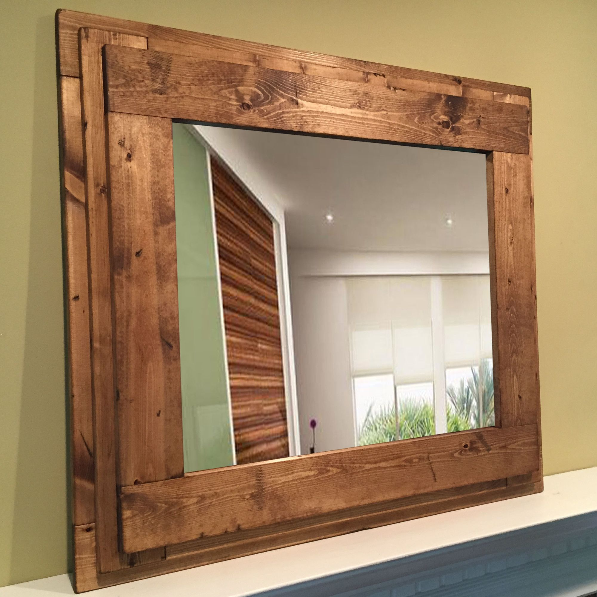 wood wall mirrors. Urban Rustics Wall Mirror Wood Mirrors