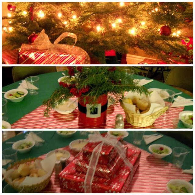 Inexpensive Christmas Party Table Centerpieces Inexpensive Christmas Christmas Party Table Christmas Party