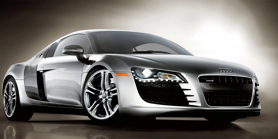 The Audi R8, one of my fav sport cars and driven by ALex