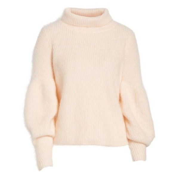 ed5e4bee093 Women s Lewit Poet Sleeve Sweater ( 399) ❤ liked on Polyvore featuring tops