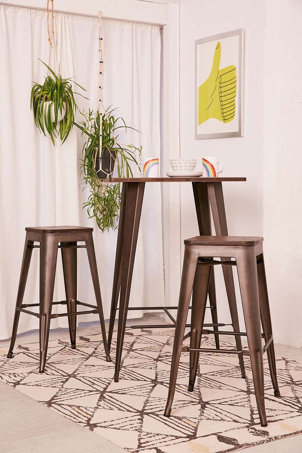 Oregon High Top Dining Set   Urban Outfitters