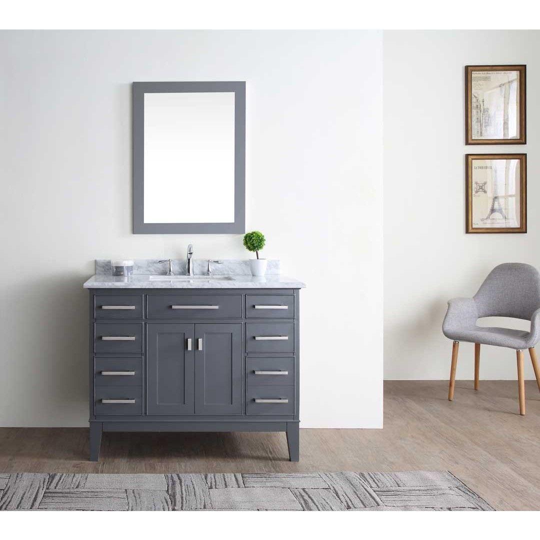Ari Kitchen Bath Danny Maple Grey Inch Single Bathroom Vanity - Bathroom outlet stores