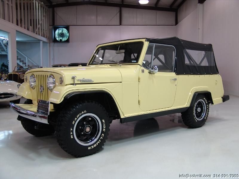 1968 Jeep Jeepster Commando Cab Convertible Jeepster Commando Jeepster Jeep