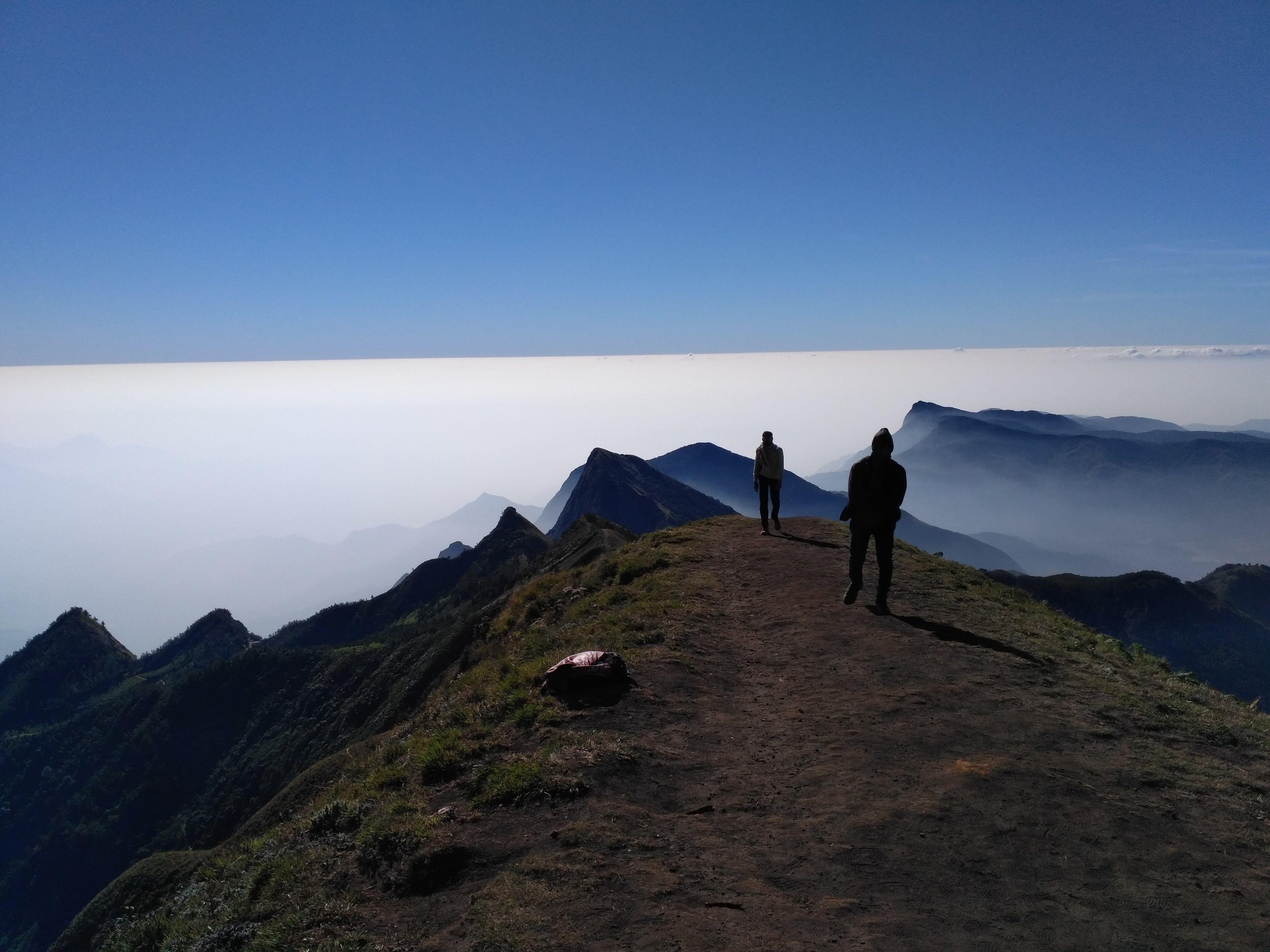 Meesapulimala Hike through cloud cladded peaks and