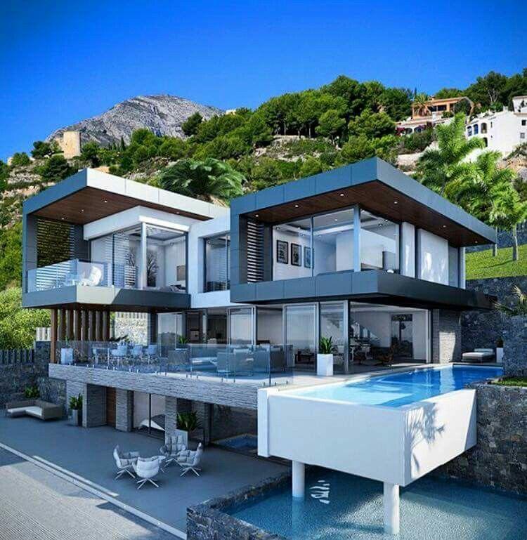Villa En Javea Espana Jarchviz Architecture House Modern Architecture House House Designs Exterior