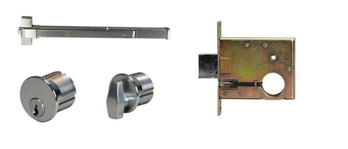 Overview Of Mortise Dead Lock And Panic Devices Door Hardware M Hardware Commercial Door Hardware Door Hardware Commercial Door Locks