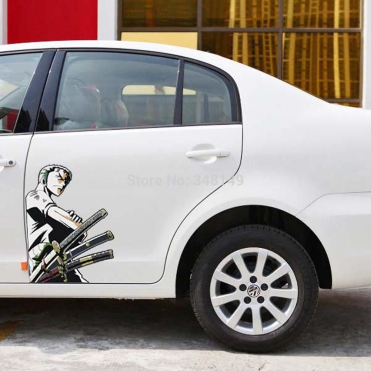 2pcs Zoro Car Side Sticker Decals Price 14 00 Free Shipping