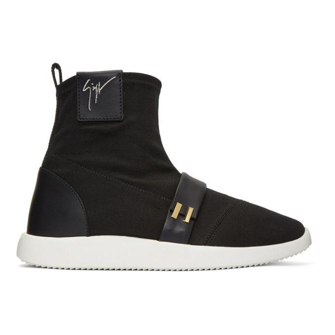 Giuseppe Zanotti Canvas high-top sneaker WARREN MJ5EHjht