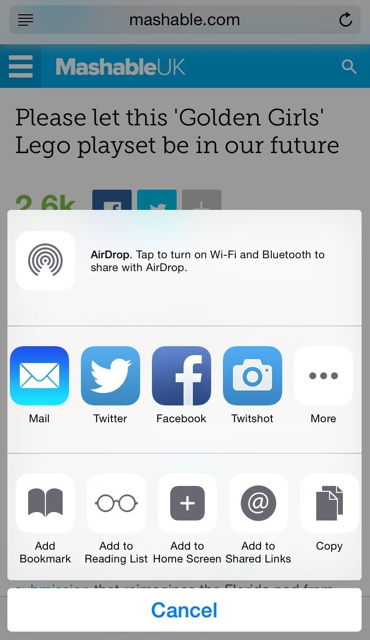 How To Add A Pinterest Button To Your Ios Sharing Options Pinterest Button Pinterest App Blog Social Media