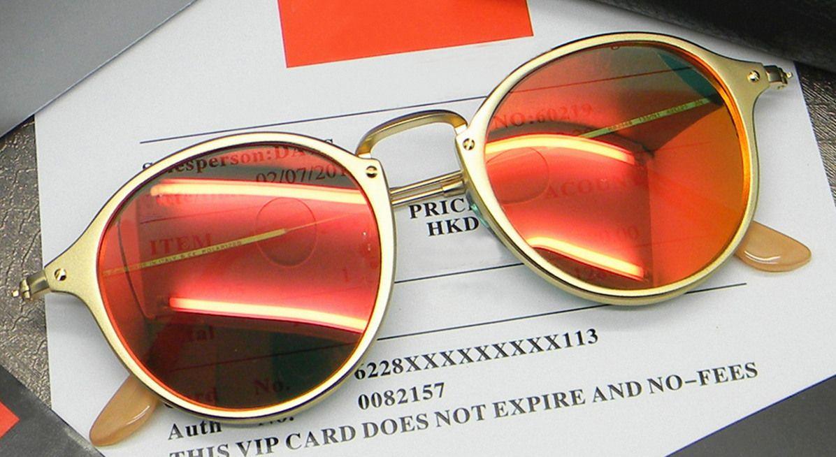 4f0a8b7ba3 2016 el más nuevo diseñador de la marca 2448 polarizado ronda moda gafas de  sol hombres mujeres protección UV400 marco TR90 gafas de sol pequeña caja  en ...