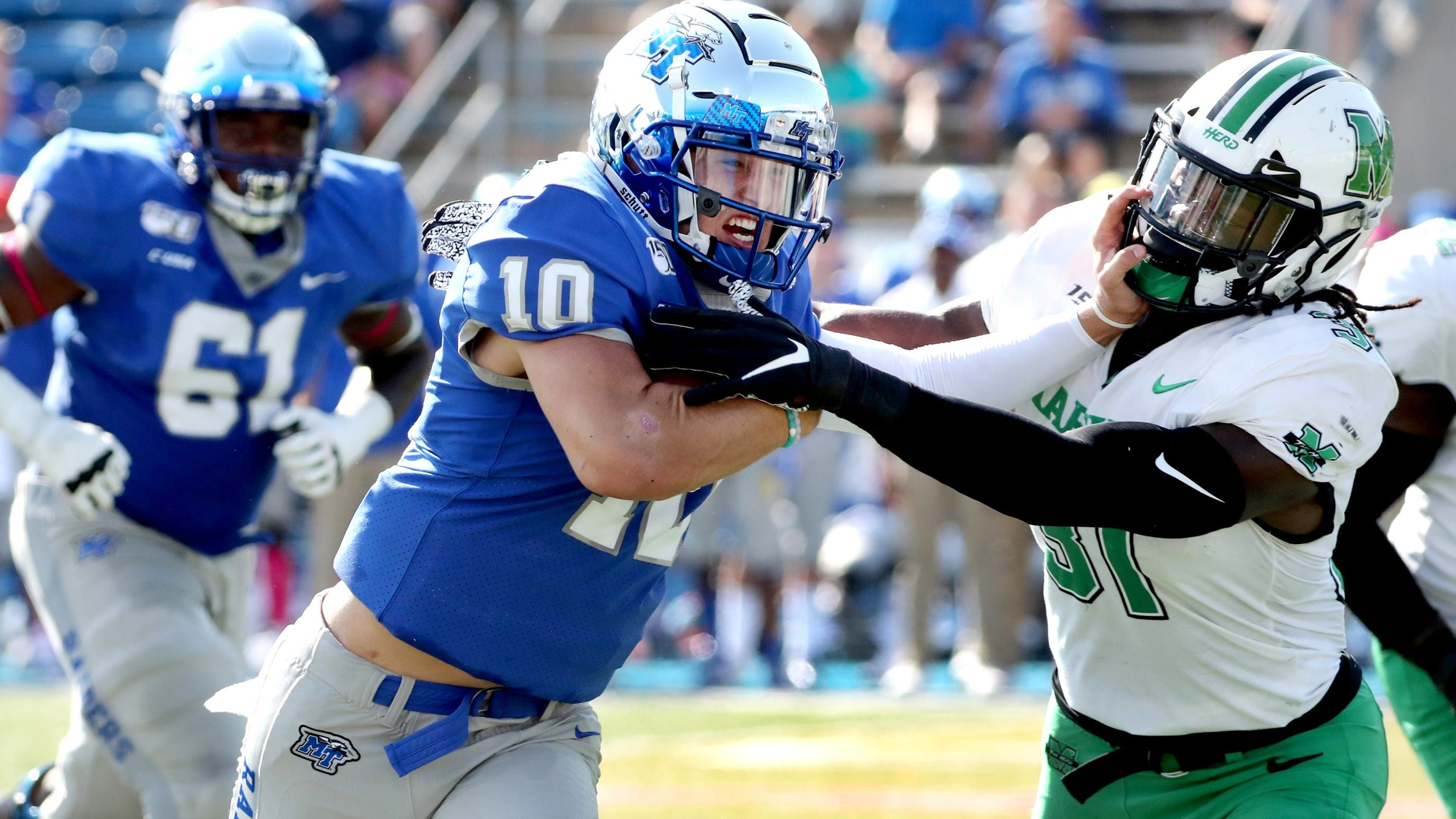 The Marshall University Linebacker Finished Third In Conference Usa With 114 Tackles In 2019 In 2020 Marshall Football Football Recruiting Kansas City Chiefs
