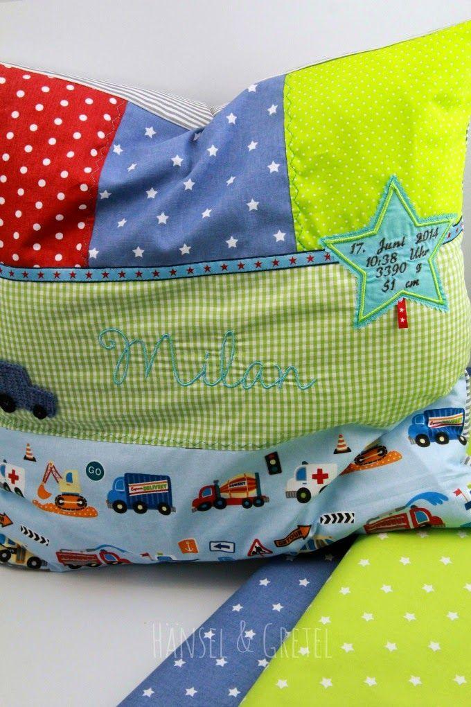 Geburtskissen | NÄHEN: Ideen - SEWING | Pinterest | Sewing pillows ...