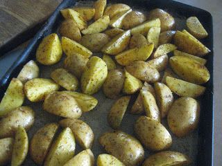 Hen & Chicks: Roasted Golden Potatoes
