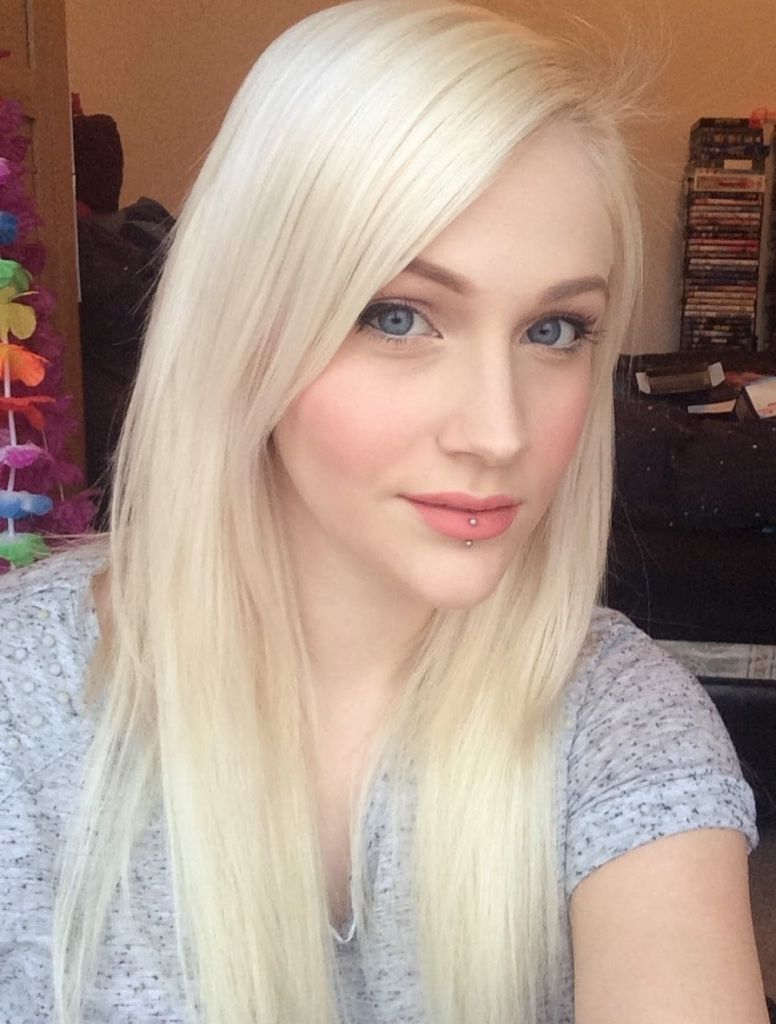Long platinum blonde hair those blessed with white blonde hair often