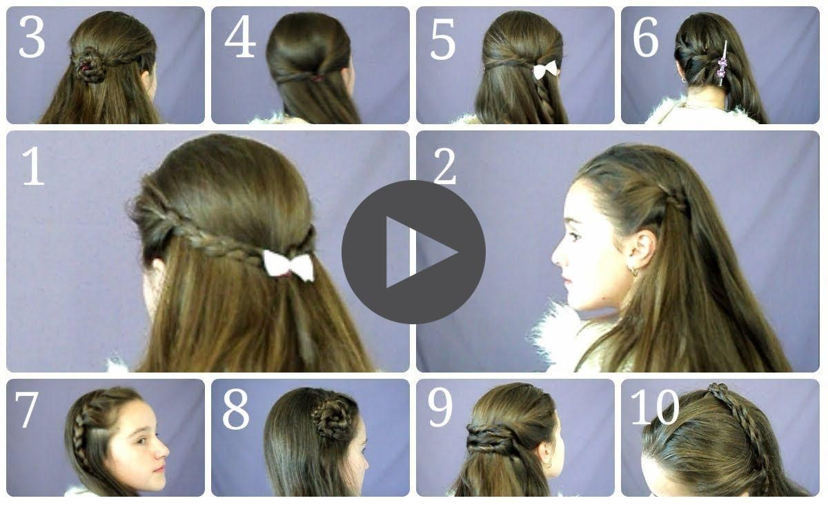 10 Easy Simple Half Up Hairstyles For Everyday In 2020 Long Hair Styles Easy Everyday Hairstyles Up Hairstyles