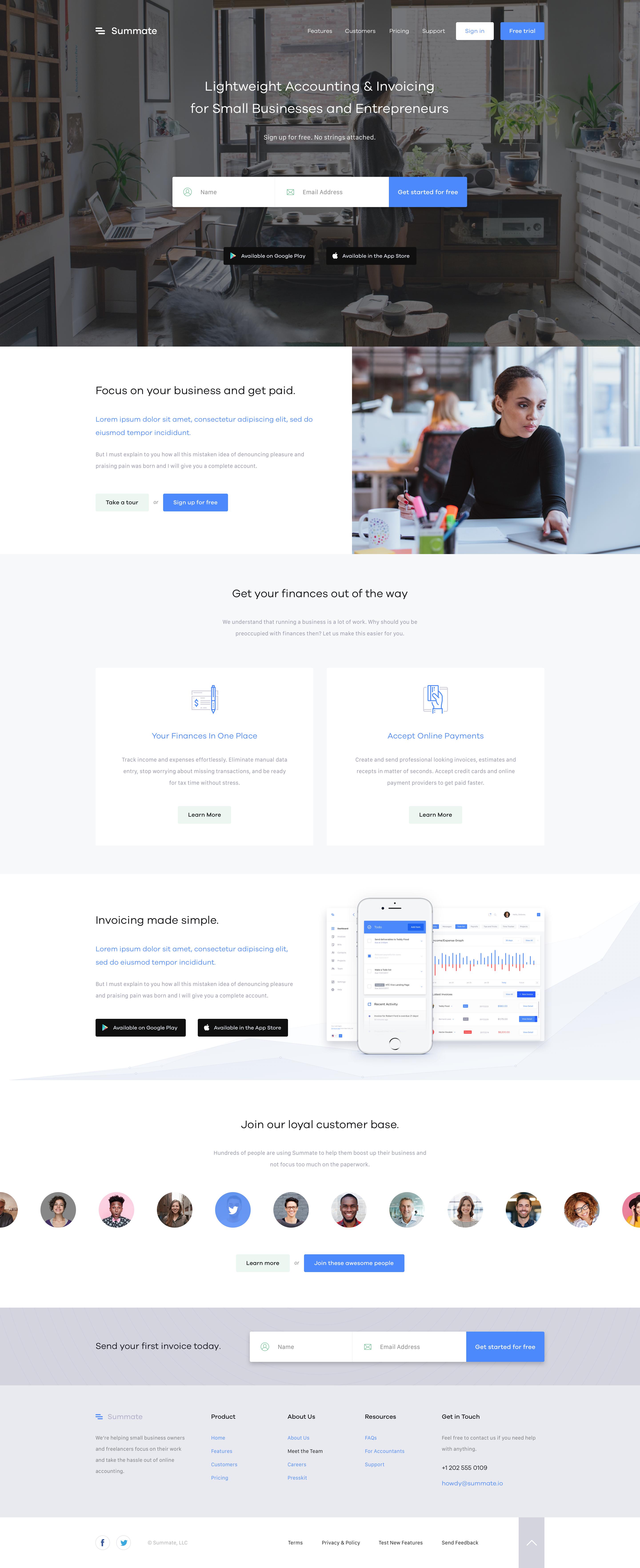 Summate Homepage Web Design Websites Web Design Examples Simple Website Design