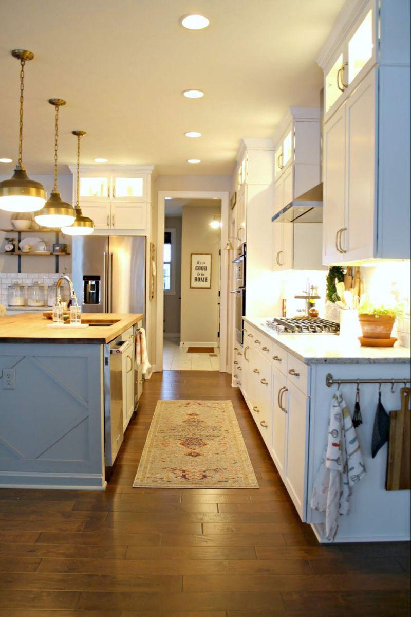 How To Upgrade The End Of Your Builder Grade Cabinets Builder Grade Kitchen Diy Kitchen Renovation Builder Grade