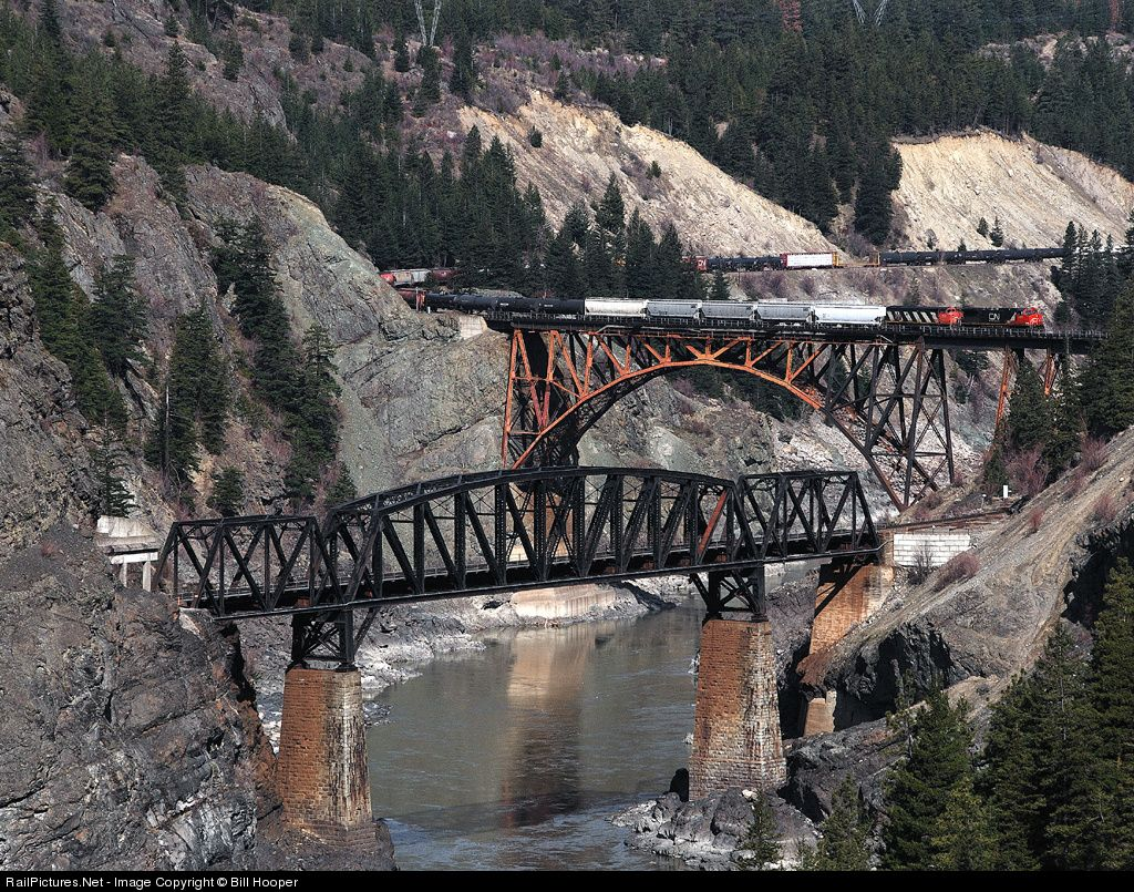 Both Cn And Cp Change Sides In The Fraser River Canyon At