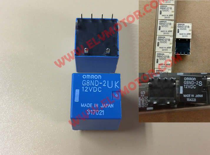 BMW X5 X6 E70 E71 E72 Electronic Parking brake actuator relay OMRON