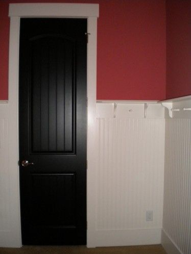 Black Interior Doors With Beadboard Decorating Ideas Pinterest