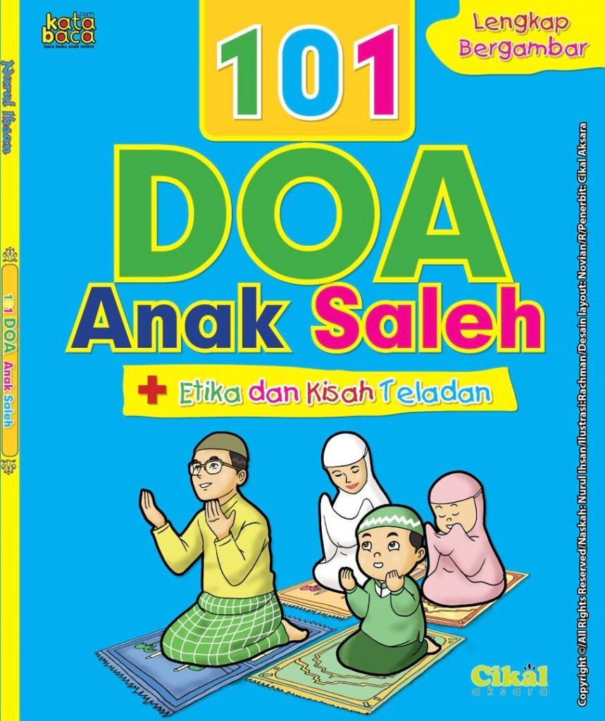 Baca Online Buku Panduan Lengkap 101 Doa Anak Saleh Buku