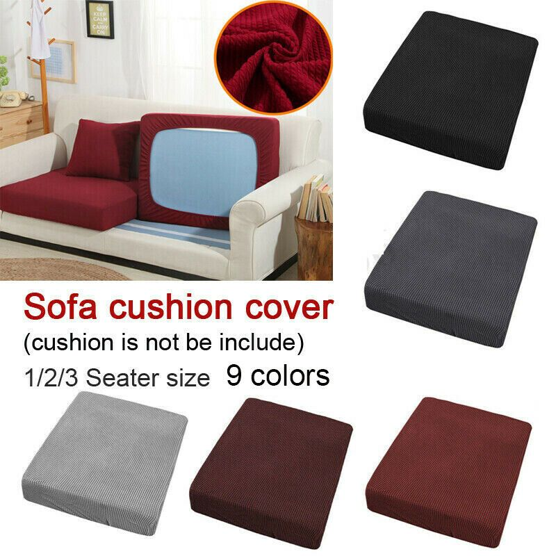 Stretchy Sofa Seats Cushion Cover Couch Sofa Covers Chair Cover Protector Fabric Sofa Slipcover Ideas In 2020 Cushions On Sofa Sofa Seat Cushions Slip Covers