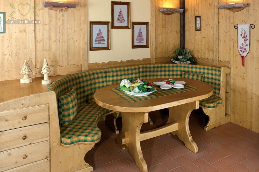 Tavolo tirolese ~ La cucina dei nostri sogni in perfetto stile tirolese colori