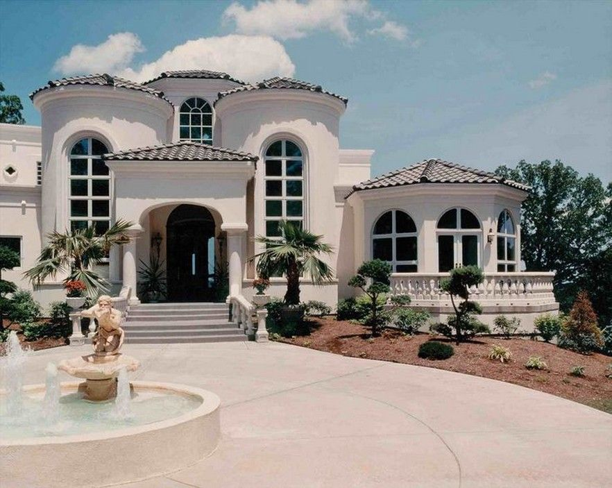62 Classic Mediterranean House Design Ideas That You Must Check 17 In 2020 Tuscan House