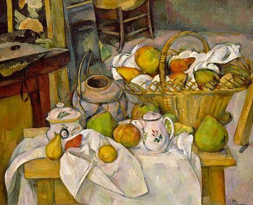 Paul Cezanne 1839 1906 La Table De Cuisine H 65 Cm L 81 Cm