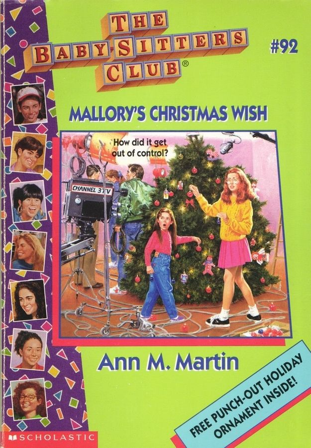Mallory's green and pink ensemble on Mallory's Christmas Wish