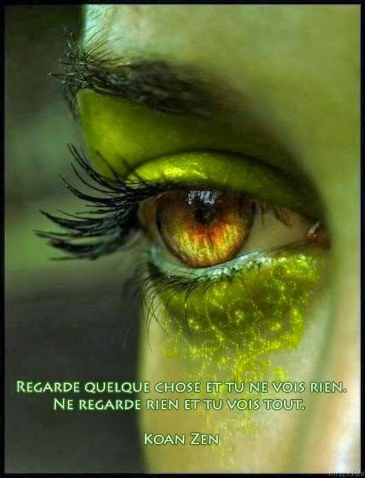 citation yeux vert