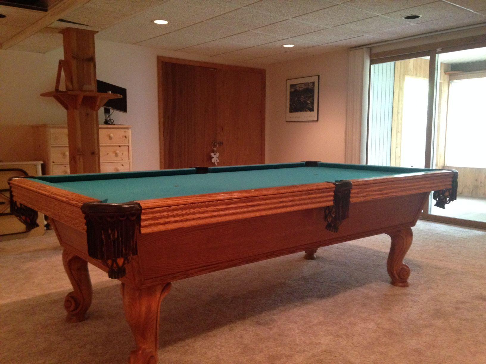 Olhausen Billiards 8u0027 Pool Table