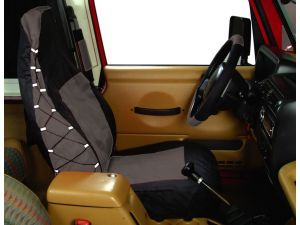 Rampage Products Polycanvas Front Seat Covers For 87 02 Jeep
