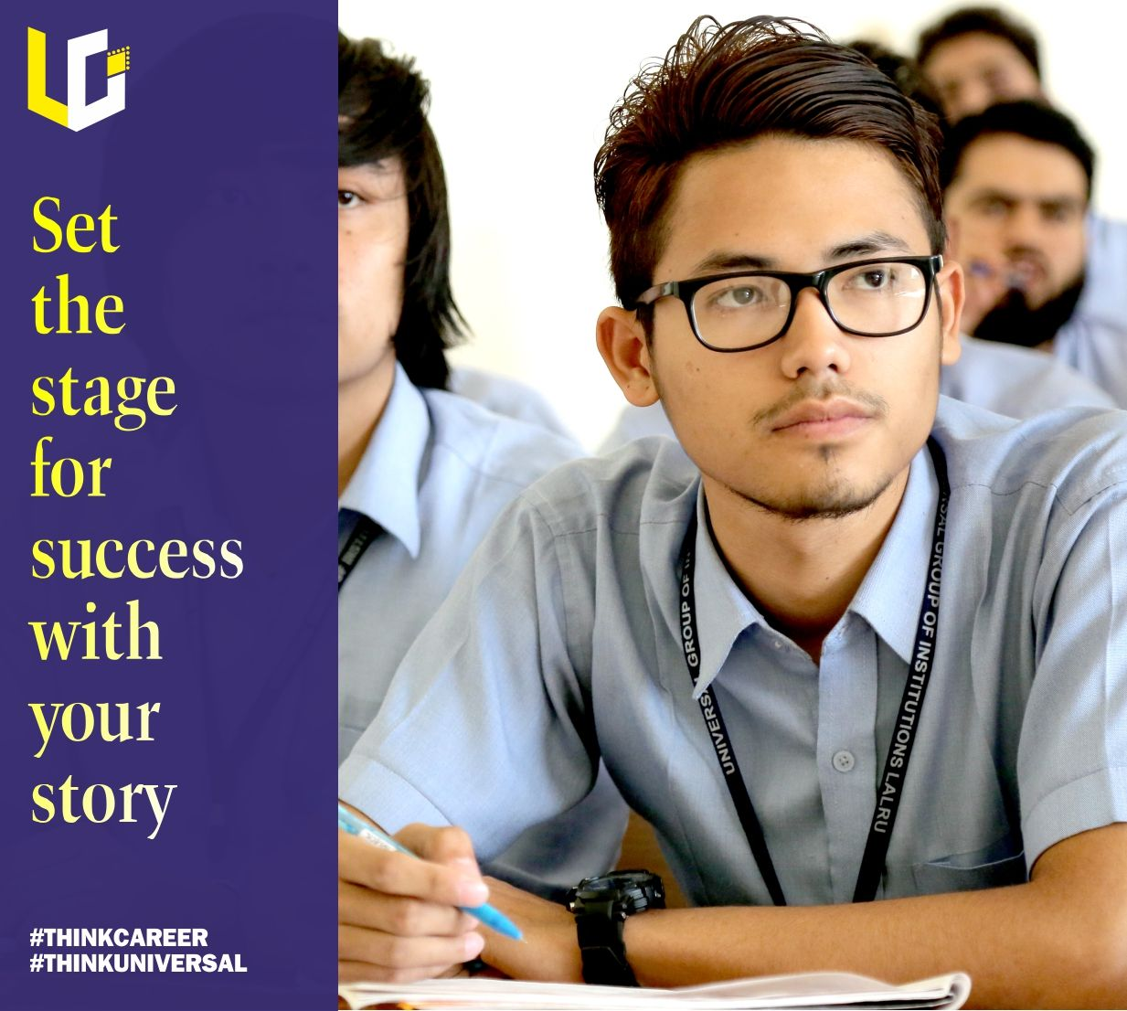 The road to success is paved with obstacles, and your journey could lead the way for future UGIANS.  If you are a UGI Alumni, inbox us your success story, and get featured on the Universal