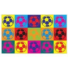 Soccer Pop Art Wall Art Poster