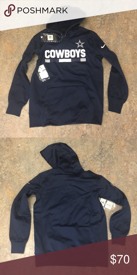 san francisco 4f713 cd99f Dallas Cowboys Nike Men's Hoodie Sweatshirt Medium Brand new ...