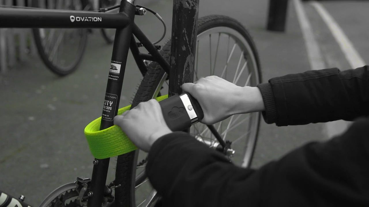 Gold Wearable Bike Bicycle Lock Bikes Direct