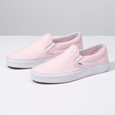 Classic shoes, Shoes, Pink vans