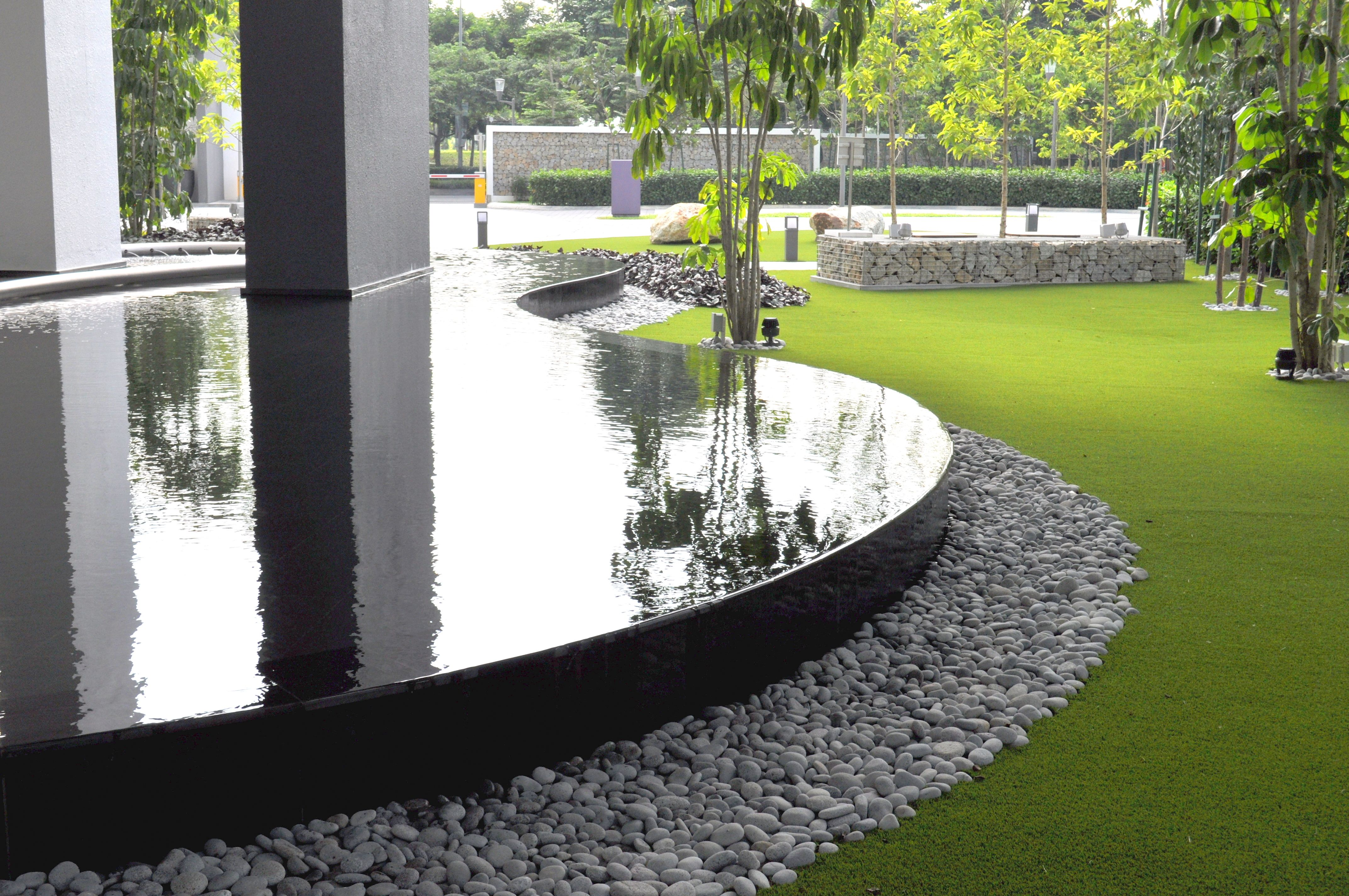 A recent project we completed with our partner Praxis Design Sdn Bhd for our long term client Desa Park City. The variety in materials, colours and textures create an overall design that is a pleasure to the eyes and mind. For this project we used Royal Grass Exclusive 3.0, the latest generation artificial grass. #artificalgrass #artificialgrassmalaysia #royalgrass #landscapedesign #landscapearchitecture #design #malaysia
