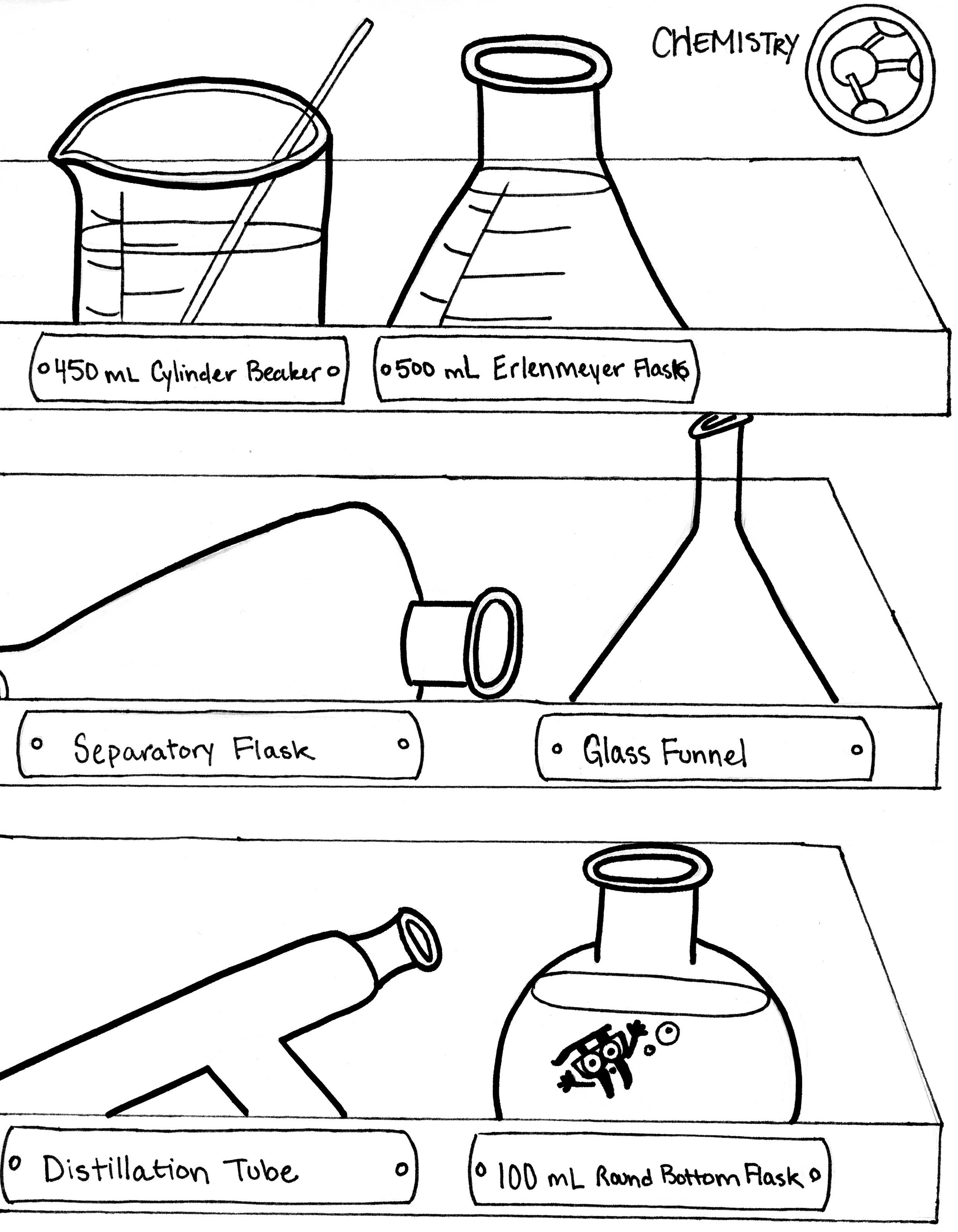 7. Chemistry | Organic Chemistry Extra Credit Coloring Book ...