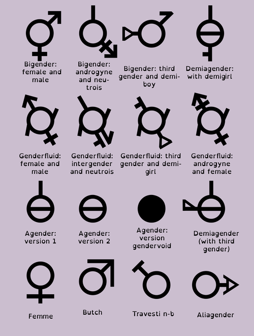 Gender Symbols Gender Signs Gender Gender Norms