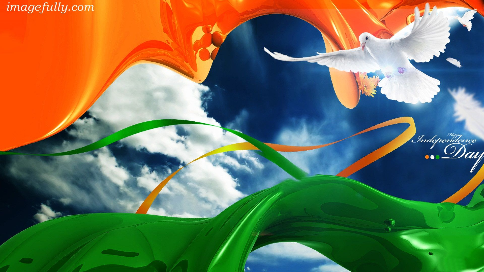 Beautiful Indian Flag Color Picture On Happy Independence Day Share On Facebook Indian Flag Wallpaper Independence Day Hd Wallpaper Independence Day Wallpaper