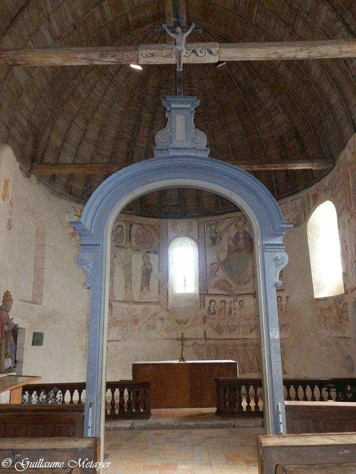 L'église de Saint-Jacques des Guérets (Loir et Cher).