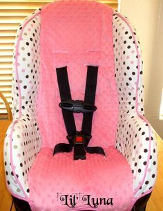 Learn make a car seat cover with this super cute and easy Car ...