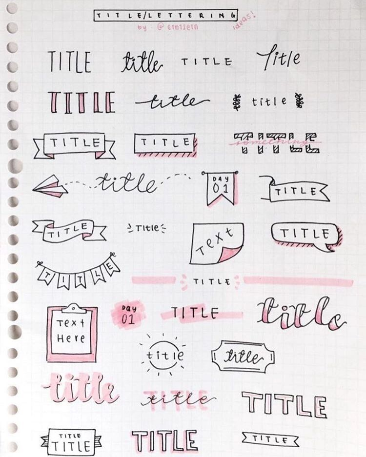 Writing help title ideas