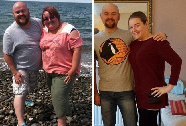 couple weight loss success stories jo barry Health and Fitness