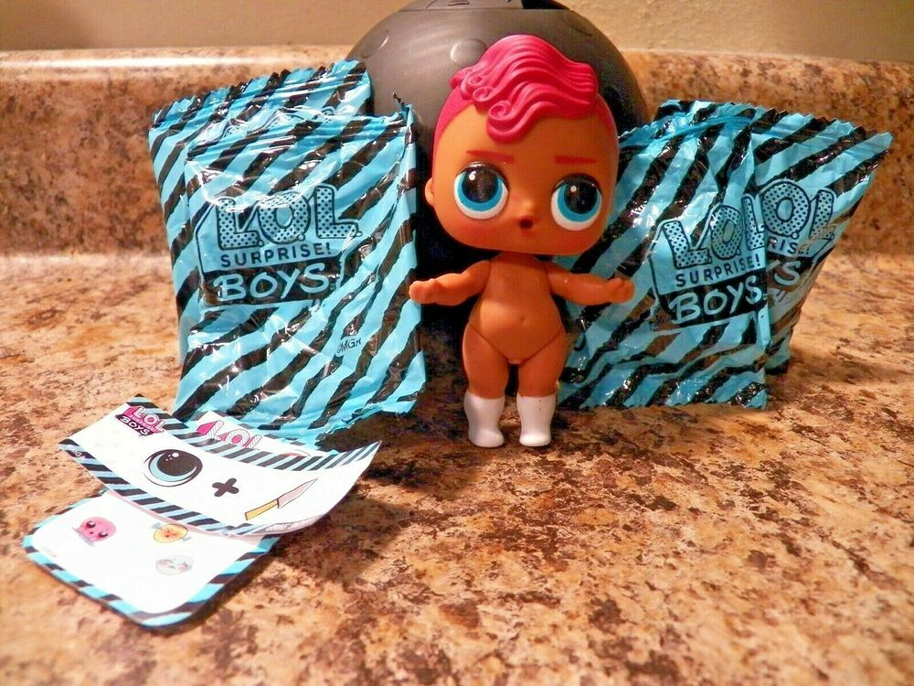 LOL Surprise Dolls Boys Series Smarty Pants Opened