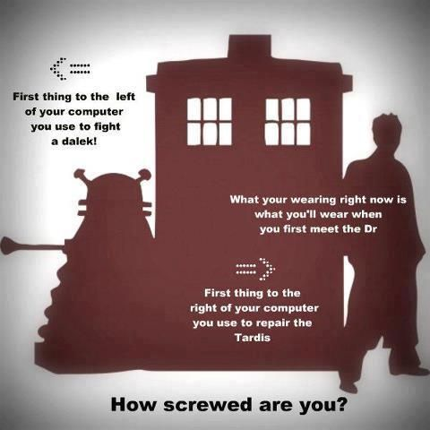 Using A Tea Cup To Fight A Dalek And Hand Sanitizer To Fix The