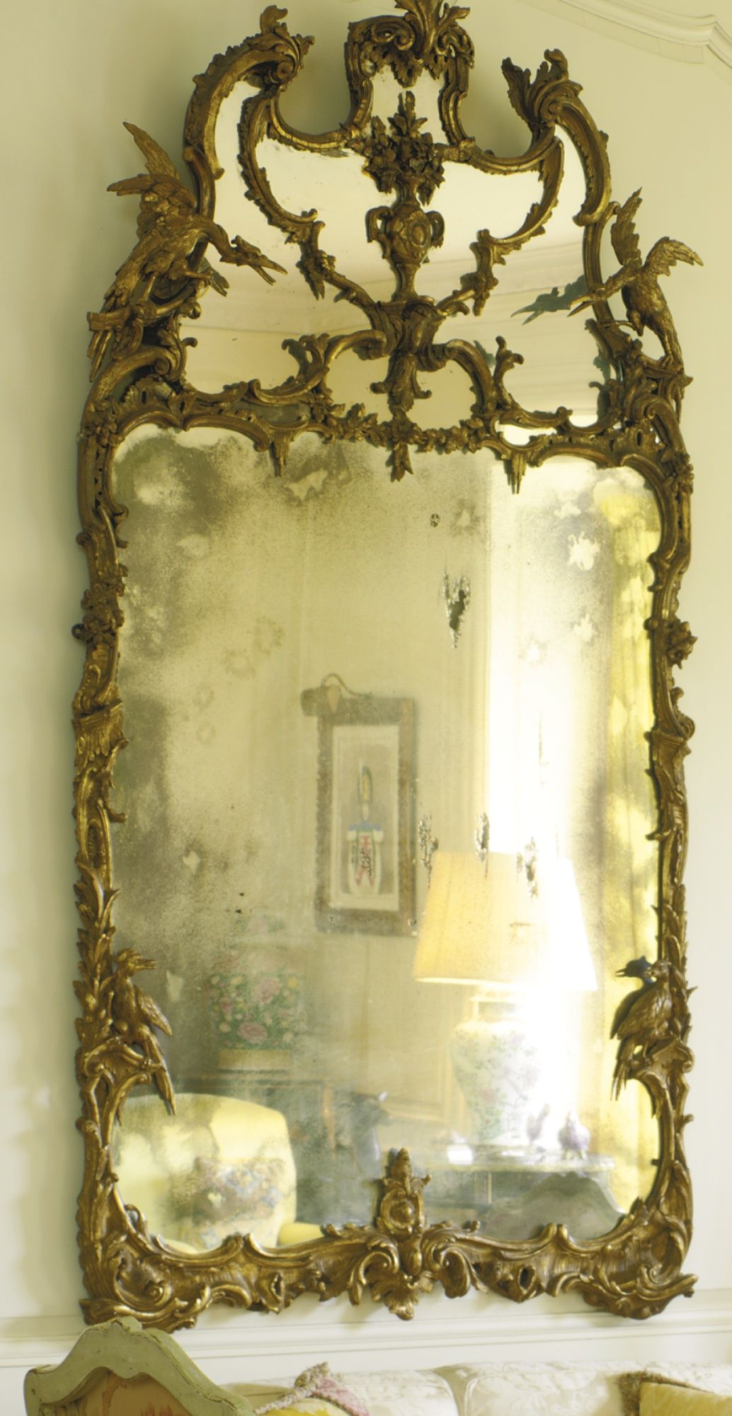 Dating old mirrors