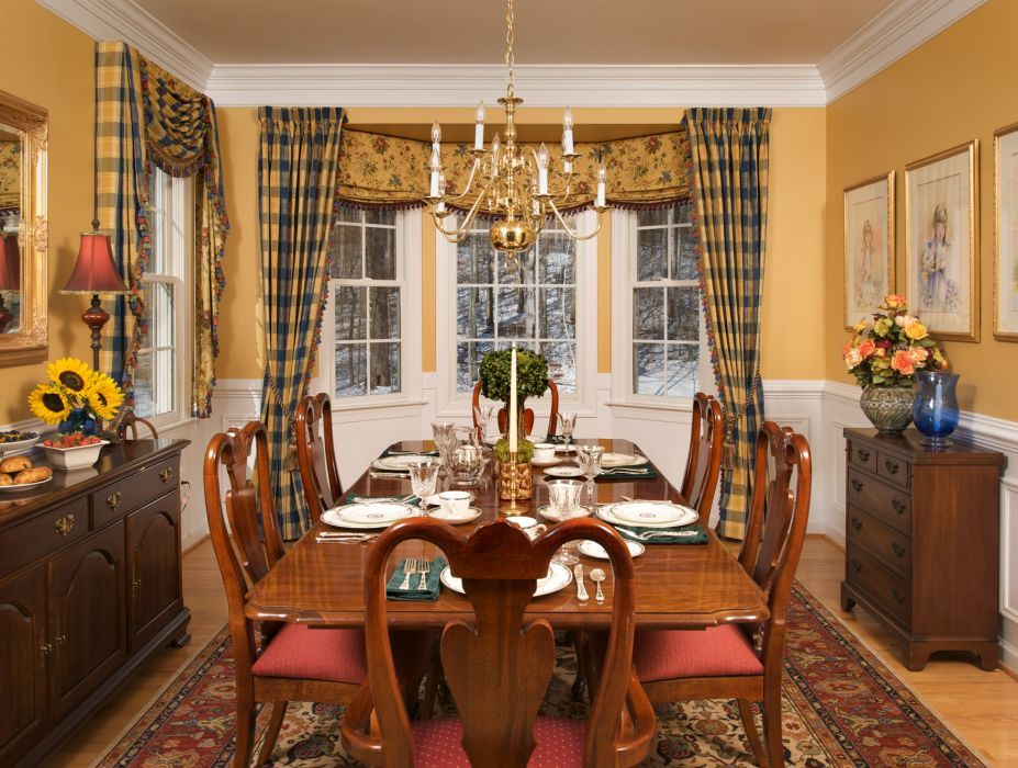 Pin By Brenda Walton On Curtain Ideas Blinds Etc 2 Dining Room Window Treatments Country Kitchen Curtains Casual Dining Rooms